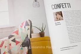 April quilting book review – Scraps Inc. Vol 2 – Cassandra Madge & Each quilt in the book is contributed by a well-known quilter – including  John Adams (Quilt Dad) who is one of my favourite designers. Adamdwight.com