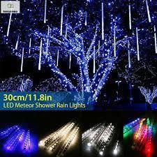 Đèn Led Sao Băng 30cm Với 8 Ống Trang Trí Giáng Sinh
