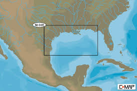 Mexico Ifr Charts C Map Nt Bathy Gulf Of Mexico Ocs Block Charts