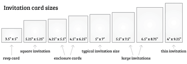 Rsvp Card Sizes What Is The Standard Wedding Invitation Size Wedding
