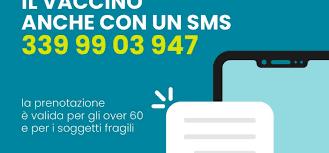 COVID: in Sicilia si può prenotare il vaccino anche via SMS | Le persone  prima di tutto