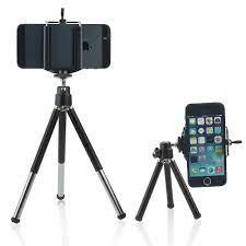 Apple iPhone 7 Plus Adjustable Mini 360 Rotatable Tripod Stand Phone Clip  Holder Wireless Bluetooth Camera Shutter Remote Control