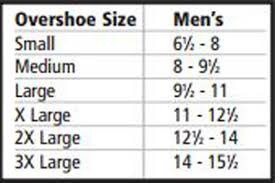 Tingley Overshoes Size Chart Tingley Ice Traction Rubber Overshoes 1350 With Steel Studs