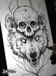 Tattoos에 있는 Aleš Caletka님의 핀 Tetování Vlka Tetování 및