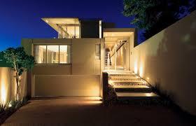 Design Exterior Case Moderne : Apartment characteristics of modern design home bamboo flooring