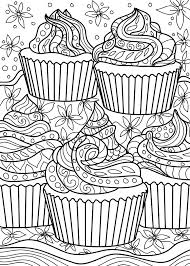 Check out our cupcake color page selection for the very best in unique or custom, handmade pieces from our shops. Cupcake Coloring Pages Page 1 Line 17qq Com