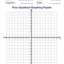 Quad Graph Paper 4 Quadrant Graph 9 Modernmuslimwoman Com