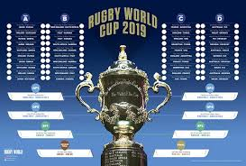 Rugby World Cup 2019 Wallchart Download And Print