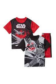 star wars template ame disney r star wars template shorts pajama 3 piece set little boys big boys nordstrom rack