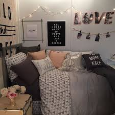 ... Bedroom, Marvelous Cute Teen Bedroom Bedroom With Bed And Crafts Wall  Decore And Drawer And ...