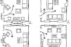 furniture layout plans. arranging furniture twelve differen layout plans