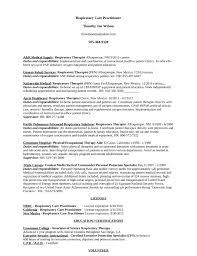 Respiratory Therapist Resume Templates Best Affe Popular Certified