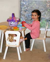 kidkraft round table chair set