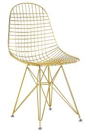 wire furniture. Wire-chair-without-cushion-gold.jpg Wire Furniture