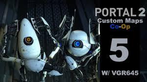 portal 2 the turret combat initiative custom co op map 5