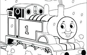 Thomas Train Coloring Pages Train Coloring Page Free The Train