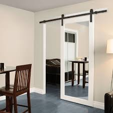 mirrored barn door ideas