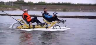 Amphibious Bike
