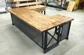 t shaped office desk. Shape Executive Office Desk Industrial Furniture Modern Commercial T Shaped L Canada With Hutch