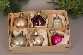 Details Zu Christbaumschmuck Miniatur Kugeln Glocke Set Antik Weihnachten Glas Handarbeit