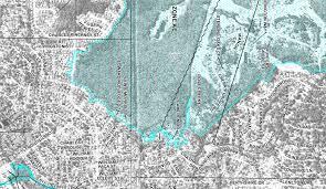 new fema flood map  loch rane neighborhood in orange park fl