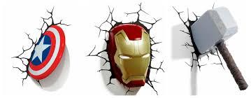 Avengers Assemble Night Light Marvel Avengers Assemble Night Light Only 16 99 Reg 40
