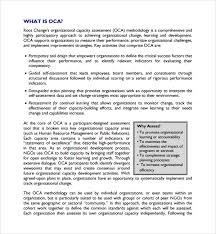 Organizational Assessment Template Enchanting 44 Organizational Assessment Templates Sample Templates