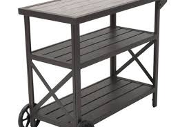 wonderful outdoor serving table of cart brown cosco target outdoor serving table e53