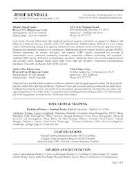 Usajobs Resume Example Sample Federal Government Template 9 Jobs