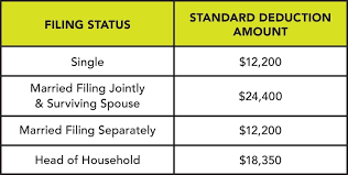 What is the Standard Deduction?