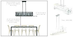 chandelier height above table proper chandelier height picture hanging height proper height to hang pictures on