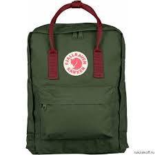 <b>Рюкзак</b> Fjallraven Kanken Classic 16l <b>Forest</b> Green/Ox Red ...