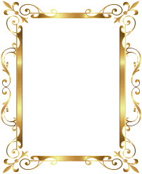 gold frame border design. Gold Border Frame Deco Transparent Clip Art Image Gold Frame Border Design Pinterest