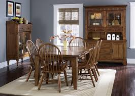 Rustic Dining Room Table With Bench Small Space Combination Cool - Dark wood dining room tables