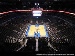 First Council Casino Concerts Seating Chart Chesapeake Energy Arena View From Upper Level 301 Vivid Seats