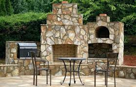 diy outdoor pizza ovens pizza oven fireplace combo fireplace and wood fired brick pizza oven in diy outdoor