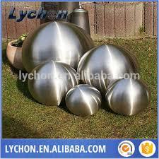 Stainless Steel Decorative Balls 100mm Matt Surface Hollow Stainless Steel Small Decorative Ball 53