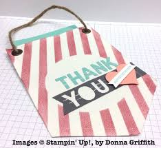 Donna Griffith's Thank You Banner Pouch – STAMP WITH BRIAN