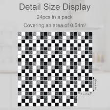 Buy 24PCS Mosaic Peel and Stick Tile ...