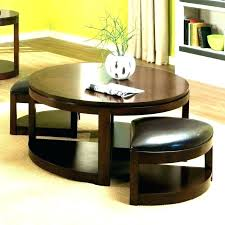 coffee table with chairs underneath coffee table with chairs underneath console table with ottomans underneath coffee