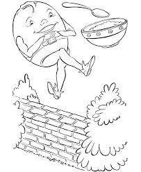 humpty dumpty coloring page nursery rhyme coloring page humpty dumpty sat on a wall coloring page