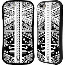 Pouzdro Head Case Apple Iphone 66s Vzor Maorské Tetování Motivy černá A Bílé Polynézie