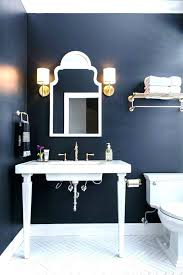 brown and blue bathroom accessories. Navy Blue Bathroom Decor Idea Set And Accessories On Brown