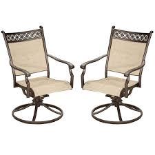 oakland living swivel patio chair 25