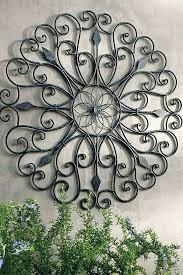large outdoor wall art ideas garden wall artwork outdoor wall decor outdoor wall art wrought iron