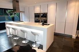 Kitchen islands with breakfast bar Small White Kitchen Island Breakfast Bar Contemporary Design With Seating In Polar Finish And Worktop Digitalmemoriesinfo White Kitchen Island With Breakfast Bar Digitalmemoriesinfo