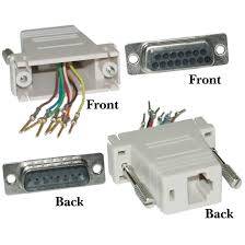 modular adapter beige db15 male to rj45 female modular adapter beige db15 male to rj45 female part number 32d1