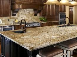 Kitchen Backsplash With Granite Countertops Stunning New Venetian Gold Granite For The Kitchen Backsplash Ideas With The