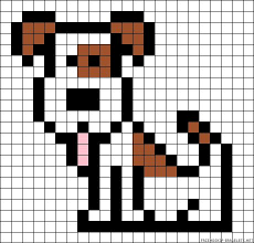 39 Best Square Patterns Images On Pinterest Embroidery Hama Beads