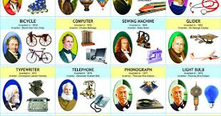 Inventors And Their Inventions Chart List Of Famous Inventions And Their Inventors